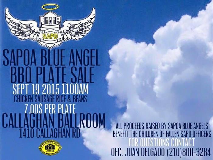 SAPOA Blue Angel BBQ Plate Sale @ Callaghan Ballroom | San Antonio | Texas | United States
