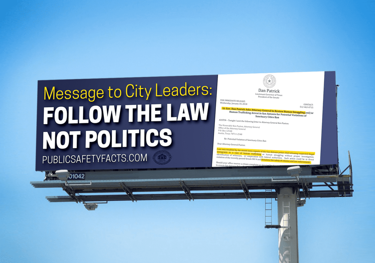 New Billboards Regarding Public Safety Now Up
