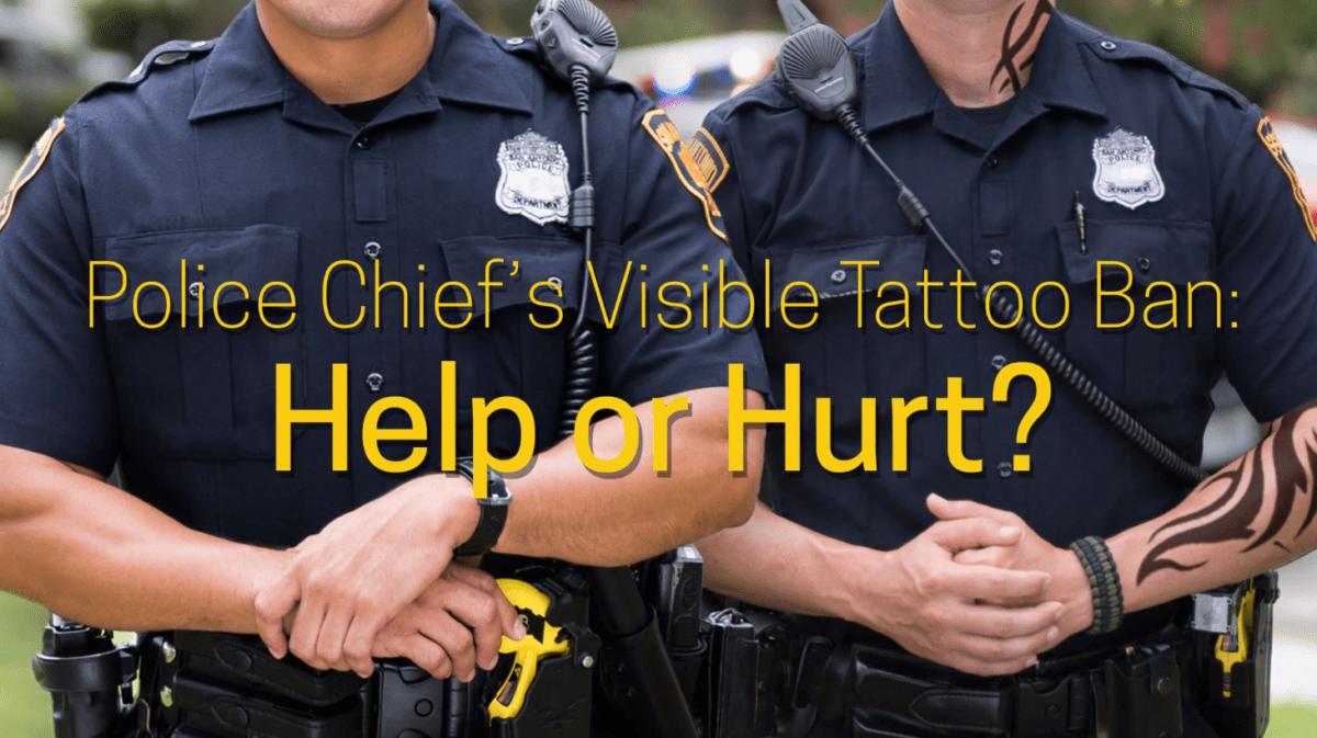 SAPD Tattoo Ban