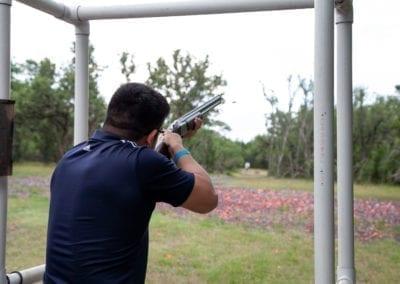 SAPOA Blue Cares Clay Shoot Participant