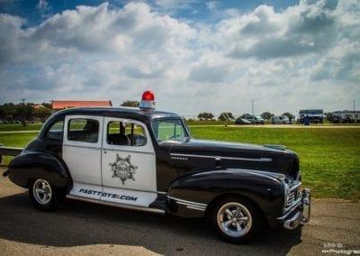Old cop car