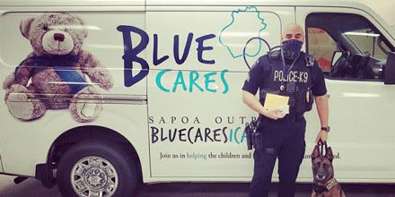 Blue Cares Van