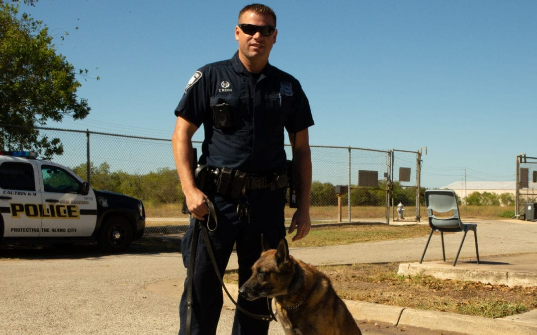 K-9 Unit Reich and Wylie