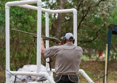 Clay Shoot Participant